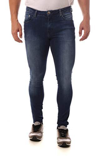 Calça Jeans Denuncia Super Skinny Azul 38