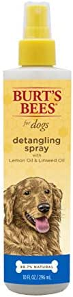Dog Grooming: Burt's Bees Detangling Spray