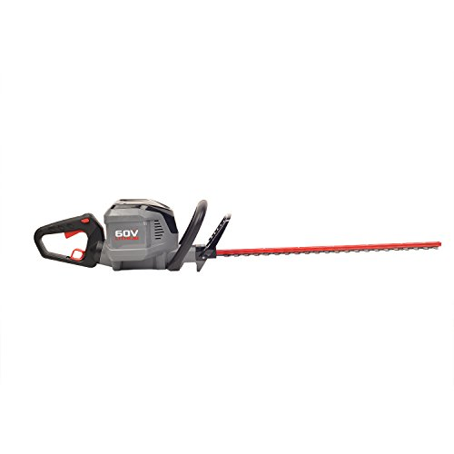 Powerworks 60V 24-inch Brushed Hedge Trimmer, Battery Not Included HT60B01PW by Works Power