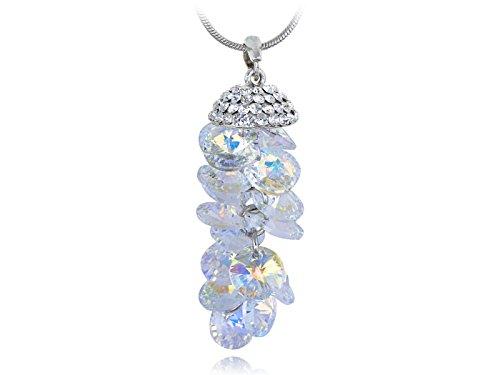 Aurora Borealis Rhinestone Necklace - 5