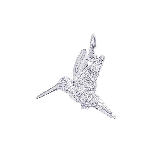 ilver Hummingbird Charm - 3D (3d Silver Charms)