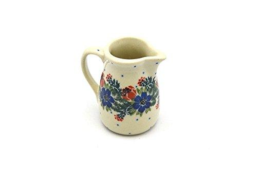 Polish Pottery Miniature Pitcher - Garden (Miniature Pottery Pitcher)