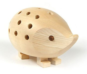 KOH-I-NOOR Small Hedgehog Pencil Holder - Natural by KOH-I-NOOR