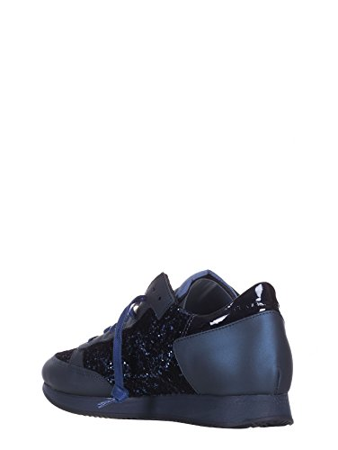 Sneakers Glitter Tropez Model Donna Trld Blu Pelle gy04 Philippe Onf5q5