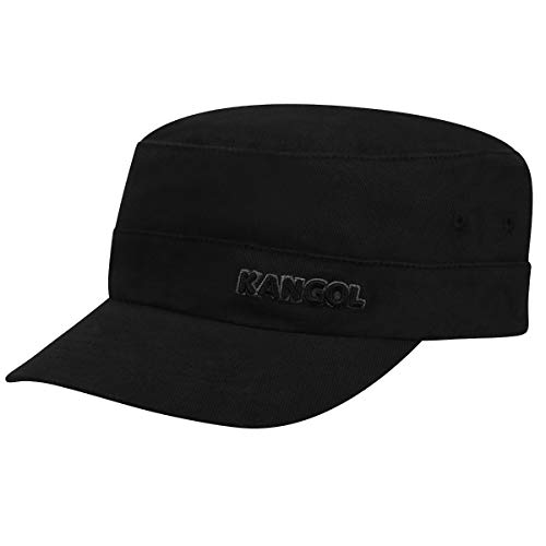 Kangol Men's Twill Army Cap, Black, (Kangol Black Hat)