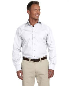 Chestnut Hill CH600C Men's Executive Broadcloth with Spread Collar - White - 4XL