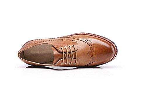 Women Oxford leather shoes E255 A U1rRTF