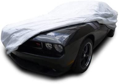 CarsCover Custom Fit 2008-2019 Dodge Challenger Car Cover Heavy Duty All Weatherproof Ultrashield Covers