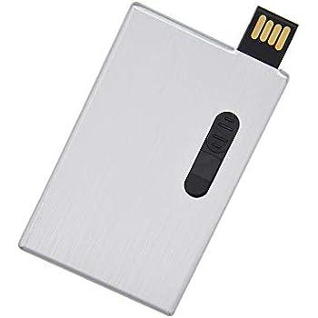 Amazon.com: Unidad flash USB 2.0 en forma de tarjeta de 16 ...