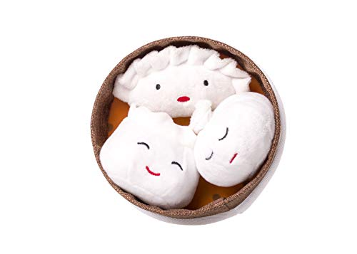 Dim Sum Pet Toys (Dog Dumpling)