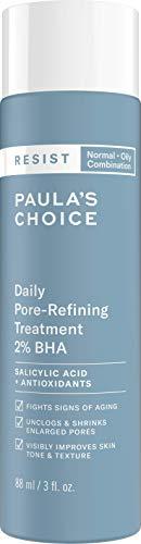Paula's Choice Resist Anti Aging 2% BHA Peeling - Exfoliant für Gesicht Entschuppt die Haut - Poren Verkleinern & Talg Reduzieren - mit Salicylsäure - Mischhaut bis Fettige Haut - 88 ml