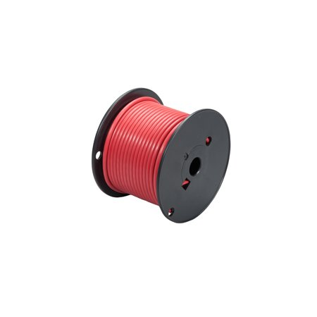 Red 100' Primary Wire - 6