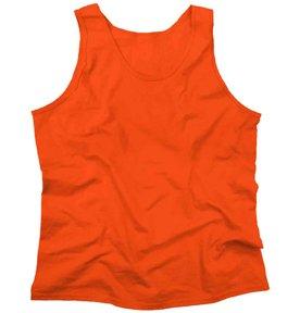 Gildan 2200- Classic Fit Adult Tank Top Ultra Cotton - First Quality - Orange - X-Large