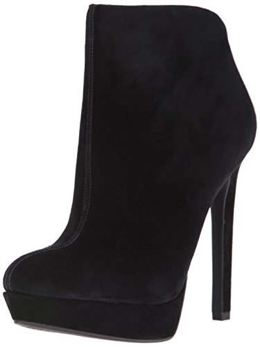 Jessica Simpson Women's Zamia Ankle Boot, Warm Taupe, US US Black/Black