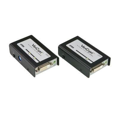 CAT5 DVI Video Extender CAT5 DVI Video ()