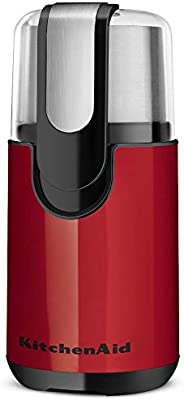 KitchenAid BCG111ER Molino de Cuchillas para Café, color Rojo