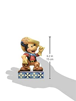 Enesco Jim Shore Disney Traditions Cowboy Mickey Figurine, 6-Inch