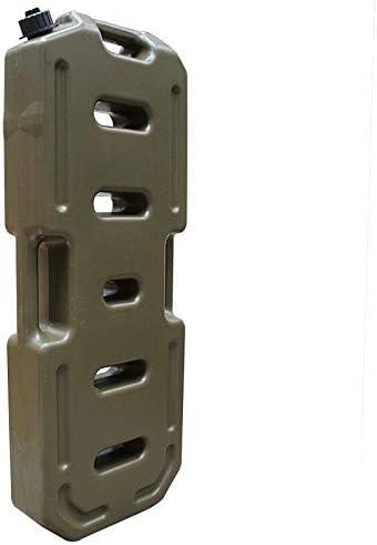 NSDFG Benzineimer - Reise verdicken Benzineimer Eisen Eimer Diesel Topf Einspritzeimer 10L 20L 30L Liter (Color : ArmyGreen, Size : 20L)