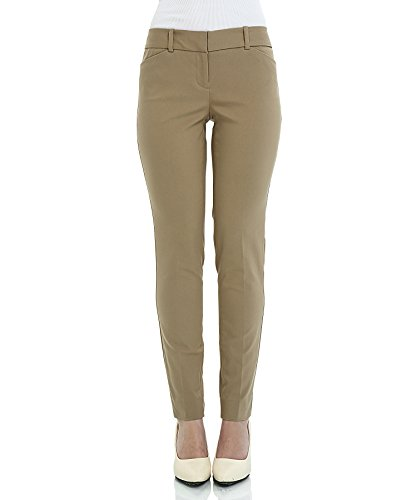 SATINATO Womens Stretchy Trousers Relax Fit