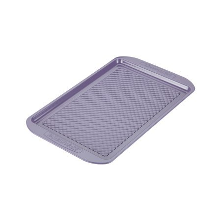 Farberware PureCook Hybrid Ceramic Nonstick Bakeware Baking Sheet and Cookie Pan, 10 inch x 15 inch - Lavender