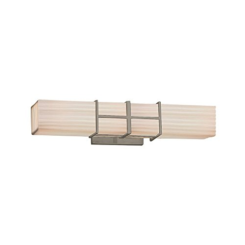 Justice-Design-Group-Lighting-PNA-8640-WFAL-NCKL-Porcelina-Structure-Linear-LED-Bath-Bar-Brushed-Nickel-Finish-with-Waterfall-Shade