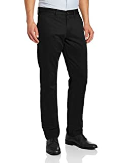 Dockers Men's Modern Khaki Slim Tapered Flat Front Pant, Black, 36W x 30L (B00BCVUB28) | Amazon price tracker / tracking, Amazon price history charts, Amazon price watches, Amazon price drop alerts