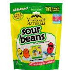 Yummy Earth Sour Beans Sour Beans Family Size 10  individual