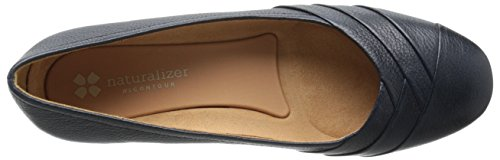 Black 10 Jaye Navy UK Naturalizer Flat Women's wqgxOCBv