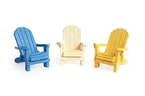 Miniature FAIRY GARDEN Beach Adirondack Chair ¨C Choose C...