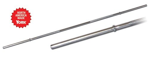 York Barbell 5 Foot Standard Chrome Straight Bar
