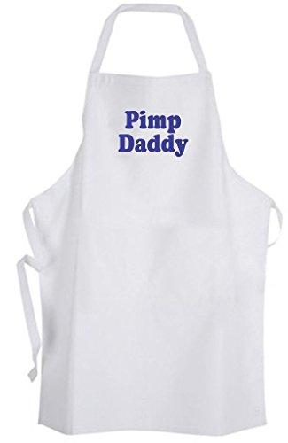Pimp Daddy - Adult Size Apron Cool Guy Urban Slang