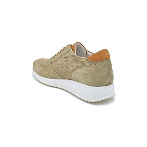 Stampa Fondo Beige Tr Camoscio Su Light Stringata Drudd Foro Eutim In Scarpa Sneaker Con vaw0Hgq