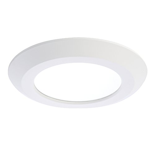 Halo SLD612835WH 6'' White 80CRI, 3500K, Integrated LED Recessed Trim, White by Halo