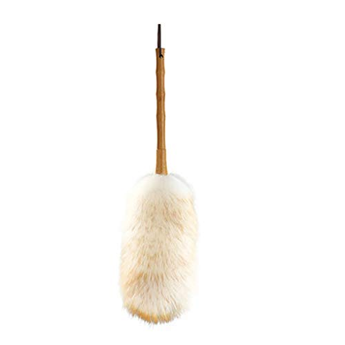 ZHANGY Ostrich Feather Makeup/Role Playing Accessories/Props Dust Scorpion Wooden Handle Cleaning The Donkey by ZHANGY (Image #7)
