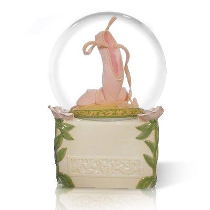 Un par de rosa zapatillas de Ballet (Zapatillas de ballet) por Twinkle waterglobe: Amazon.es: Hogar
