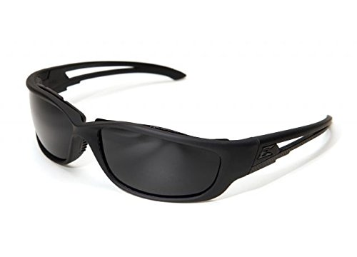 Edge Eyewear Blade Runner XL Glasses, Matte Black Frame with Gasket/G-15 Vapor Shield Lens
