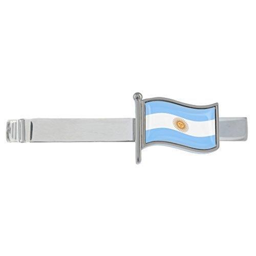 Argentina Bandera Ondeante Chapado En Rodio Clip Para Corbata en ...