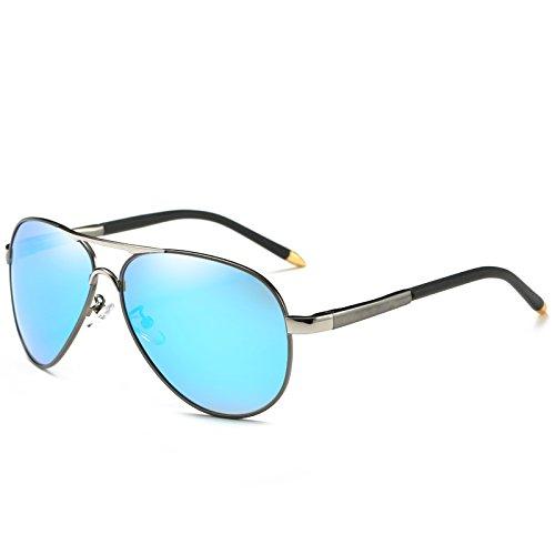 azul polarizadas hombres polarizadas ESPEJO LENTES gafas de sol Blu para UV400 frío macho piloto gafas DE de Automóvil de sol gafas TIANLIANG04 estilo dSXqw1w