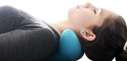 benepom C-Rest Massager, Neck Traction Pain Relief, Poor Posture Corrector, Uses Pressure Points to Release Tension on Shoulder, Upper Back & Neck, Lightweight & Effortless to Use