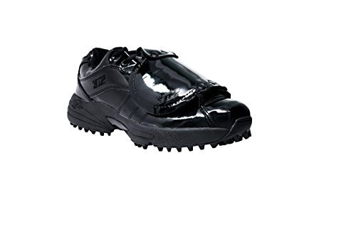 Baseball Umpire Shoe (3N2 Reaction Pro Plate Lo – Patent Leather - Black)
