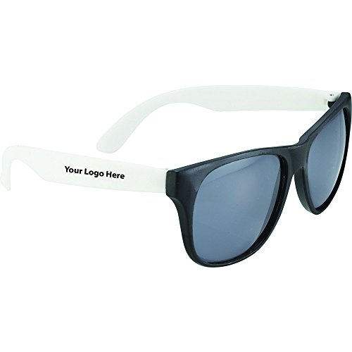 Retro Sunglasses Crystal - 150 Quantity - $1.05 Each - PROMOTIONAL PRODUCT / BULK / BRANDED with YOUR LOGO / - Sunglasses Identity