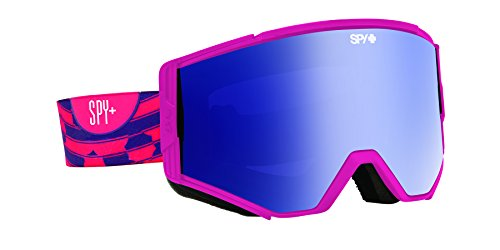 Spy Optic Ace 310071184401 Snow Goggles, One Size (Raspberry Swirl Frame/Pink Dark Blue Pink Lens)