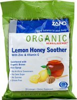 Zand Organic HerbaLozenge Lemon Honey Soother -- 18 Lozenges by (Organic 18 Lozenges)