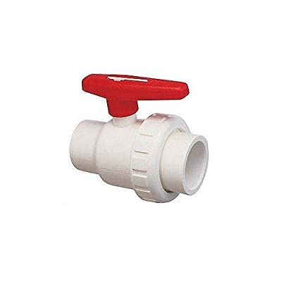 Praher 150-010 1.5in Sxs Single Union Ball Valve Pvc from PRAHER