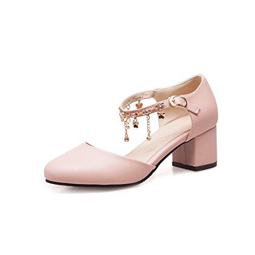 35 con Zeppa EU Rosa Pink AN Donna Sandali 75BvnaxqwY