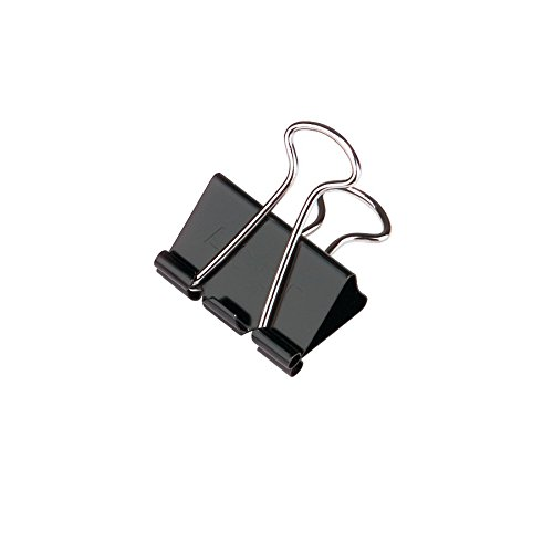 Review ACCO Binder Clips, Medium,