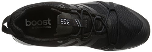 adidas Terrex Agravic Gtx, Zapatos de Low Rise Senderismo para Hombre Negro (Negbas/negbas/ftwbla)