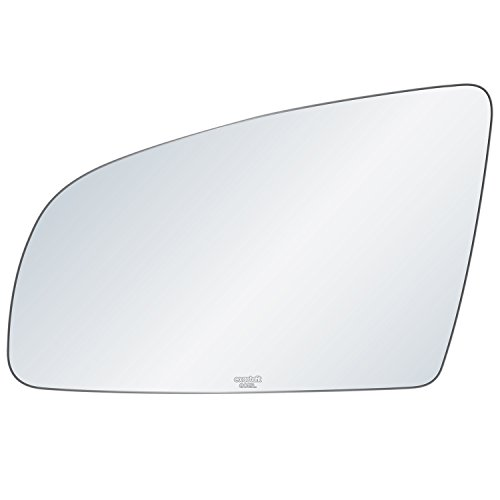 exactafit 8015L Replacement Driver Left Side Power Mirror Glass Flat Lens fits Audi A3 A4 S4 A6 S6 Quattro by Rugged TUFF ()