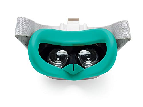 Silicone Face VR Cover para Oculus Quest 2 - Mint