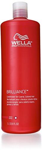Brilliance Wella Color Care Conditioner For Coarse Hair 8.4